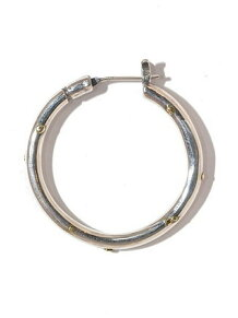Hoop Pierce(XL)3mm body w/gold