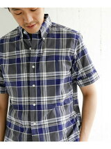 GYMPHLEX MADRAS CHECK SHORT-SLEEVE SHIRTS