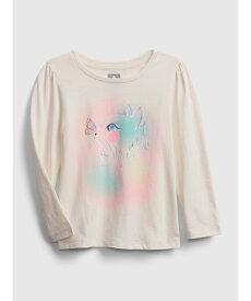 【SALE/24%OFF】GAP (K)ミックスマッチグラフィックtシャツ (幼児) ギャップ カットソー キッズカットソー ベージュ ホワイト ネイビー ピンク