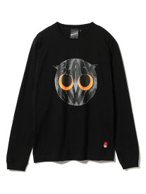 【SALE/30%OFF】BEAMS T 【SPECIAL PRICE】BEAMS T / Bird Long Sleeve Tee ビームスT カットソー Tシャツ ブラック ホワイト