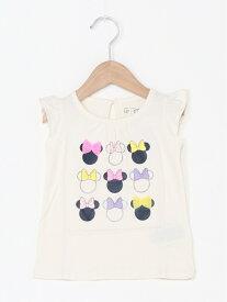 【SALE/30%OFF】GAP (K)babyGap   Disney ミニーマウス グラフィックTシャツ ギャップ カットソー キッズカットソー ホワイト