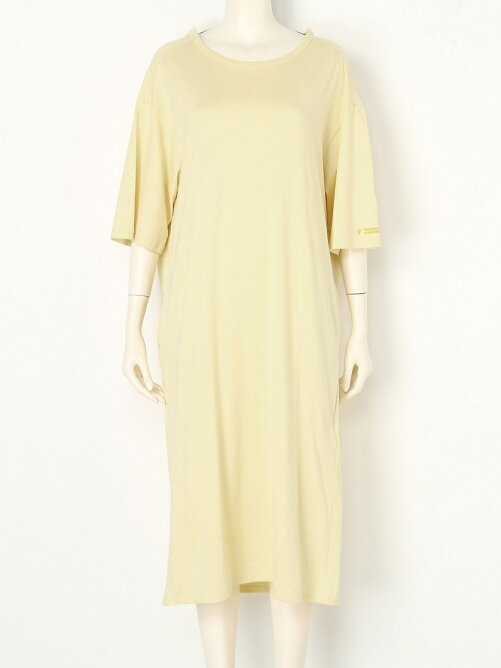 dry cotton long neck dress