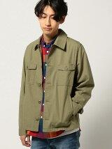 【WEB限定】BEAMS / NEW STANDARD リップストップ CPOシャツジャケット