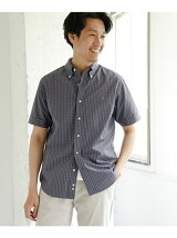 GYMPHLEX × DOORS 別注GINGHAM  SHORT-SLEEVE SHIRTS