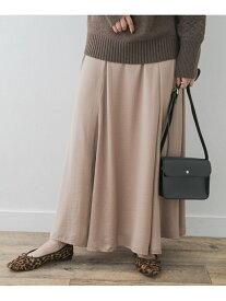 【SALE/20%OFF】ROSSO F by ROSSO サテンフレアスカート アーバンリサーチロッソ スカート スカートその他 ベージュ ブルー【送料無料】