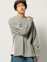 【WEB限定】BEAMS / NEW STANDARD サイドオープン スウェットシャツ