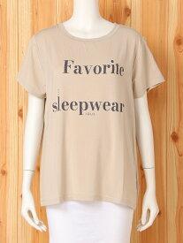 gelato pique FavoriteロゴTシャツ ジェラートピケ インナー/ナイトウェア ルームウェア/トップス ベージュ グレー【送料無料】