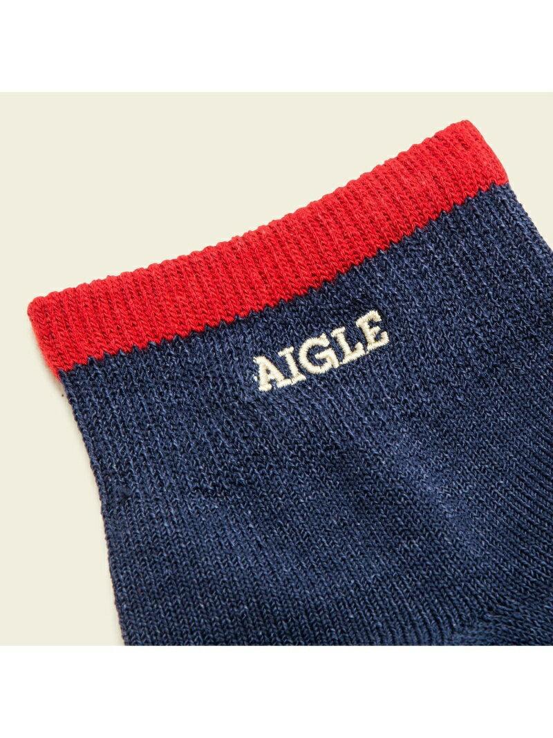 AIGLE (U)WACLOTHショートソックス エーグル ファッショングッズ