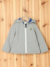 HOODED ZIP UP JUMPER GALAXY  90cm