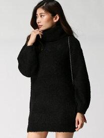 rienda リングヤーンパフSLV knit OP リエンダ ニット【送料無料】