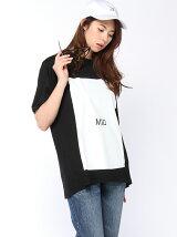 """【W】スクープ ビッグ Tシャツ""""MID"""""""