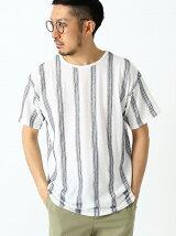 ビーミング by ビームス / ジャカード 天竺 クルー Tシャツ BEAMS ビームス
