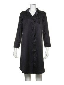 COTTON SATIN SHIRT DRESS (C184) ルームウエア / パジャマ コットン サテ