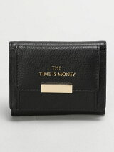 (W)THE TIME IS MONEY三つ折り財布