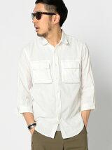 ビーミング by ビームス / Wガーゼ 2Wayカラー 7分袖 シャツ BEAMS ビームス