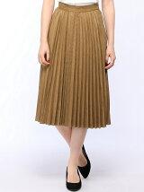 Techichi/フェイクスエードプリーツスカート