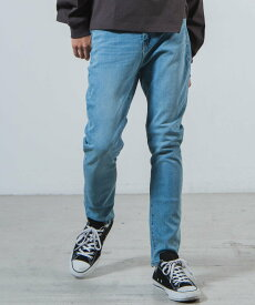 【SALE/10%OFF】WEGO WEGO STANDARD/(M)ストレッチデニムスキニーパンツ ウィゴー パンツ/ジーンズ スキニージーンズ ブルー ネイビー