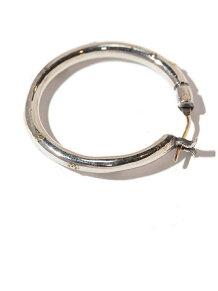 K18goldpost Hoop Pierce(XL)3mm body w/gold