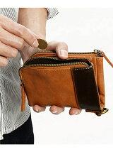 Rename/(M)aid 二つ折り財布