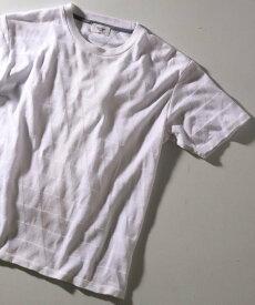 【SALE/50%OFF】MEN'S BIGI トライアングルリンクスカットソー メンズ ビギ カットソー Tシャツ ホワイト ネイビー イエロー