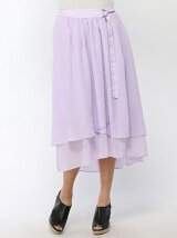 アシメフルイドスカート