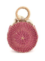 BANCUAN ABACA ROUND TOTE