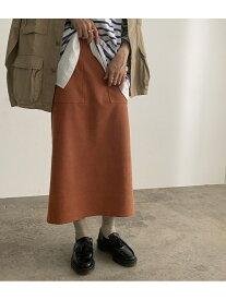 【SALE/10%OFF】ROPE' mademoiselle ストレッチフェイクスエードタイトスカート ロペ スカート スカートその他 ブラウン ピンク【送料無料】