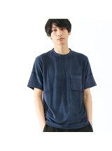 COOL MODALパイルポケットTシャツ