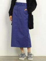 【予約】【別注】<Dickies>スリットタイトスカート