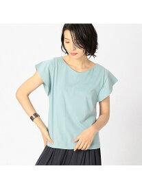 【SALE/50%OFF】COMME CA ISM 袖フレアデザイントップス コムサイズム カットソー Tシャツ ブラウン ホワイト ベージュ グリーン