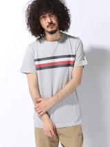 (M)エンブロイダリーフラッグTシャツ 父の日 ギフト