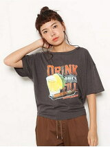 Drink one s fill Tシャツ
