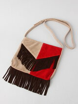 BI COLOR FRINGE POCHETTE
