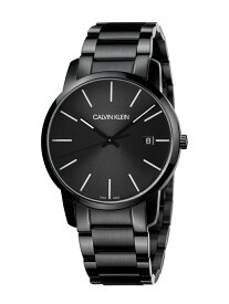 CALVIN KLEIN WATCHES+JEWELRY [カルバンクライン] CALVIN KLEIN 腕時計 City(シティー) 3針 ブラック×ブラック カルバンクラインウォッチアンドジュエリー ファッショングッズ 腕時計 ブラック【送料無料】