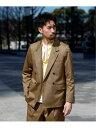 【SALE/60%OFF】EDIFICE GIZA45 Golden W JK エディフィス コート/ジャケット テーラードジャケット ベージュ【送料…