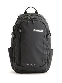 Bianchi Bianchi/(M)Bianchi ラウンドリュックサック TBPM-05 ティツウオーオンラインストア バッグ リュック/バックパック ブラック【送料無料】