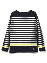 ビーミング by ビームス / パネルボーダーボートネックTシャツ BEAMS