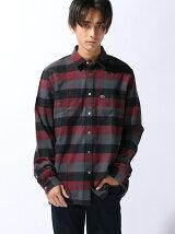 ビッグチェック コットンシャツ (長袖)