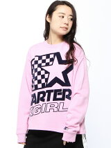X-GIRL x STARTER L/S TEE