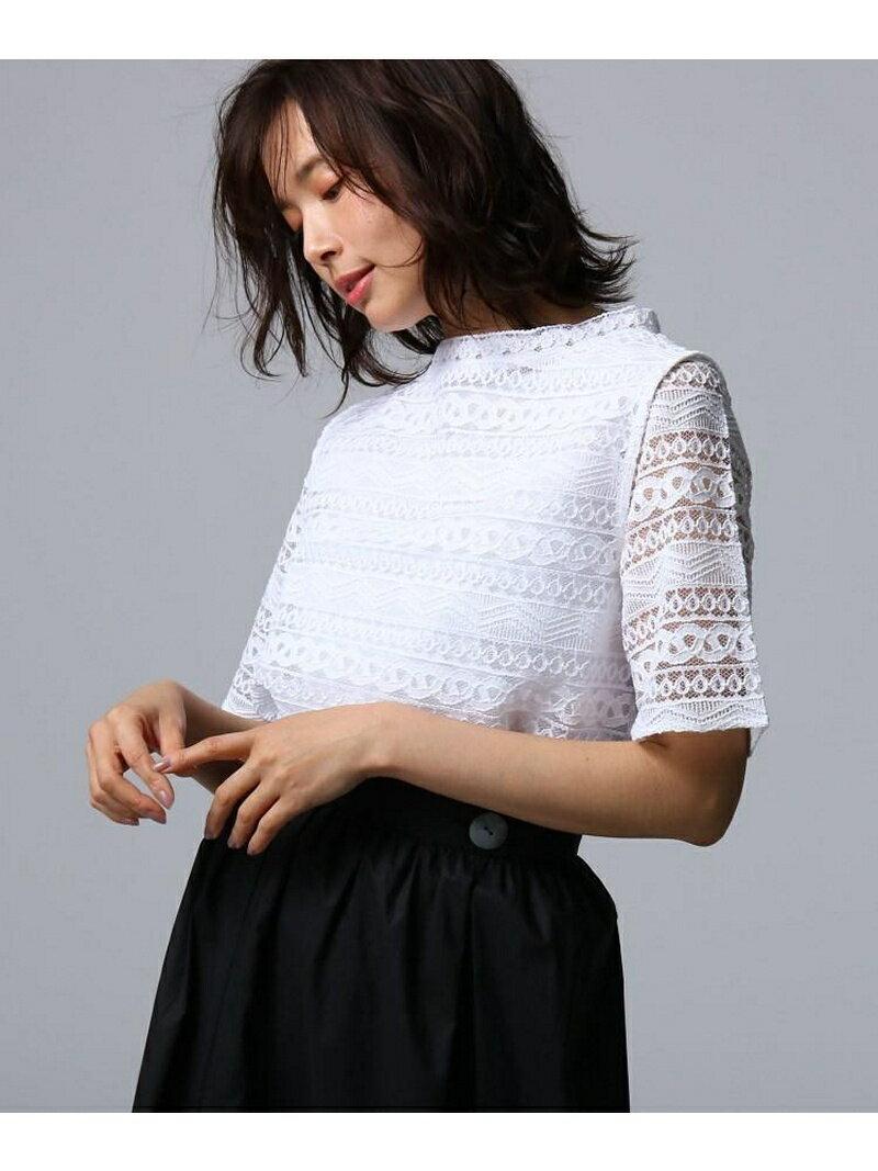 UNTITLED/FAIRY SHADE ヴェールレースプルオーバーセット アンタイトル ニット【送料無料】