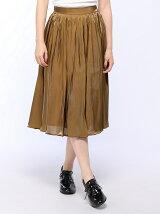 Techichi/ヴィンテージサテンスカート