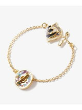 Stained glass Rose Bracelet