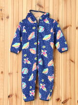 FLEECE COVERALL GALAXY PATTERN