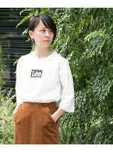 Lee×DOORS-natural- LEE LOGO T-SHIRTS