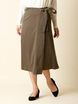 《INED》ラップAラインスカート