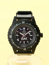 X-girl x Q&Q smile solar DIVER WATCH
