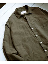 綿麻Long-Sleeve Shirts