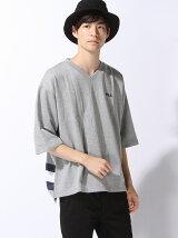 (M)FILAポイント刺繍5分袖プルオーバー