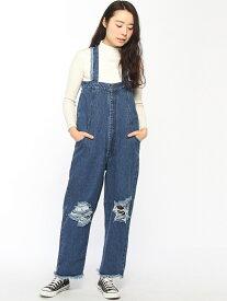 【SALE/27%OFF】X-girl x PONY STONE SALOPETTE エックスガール パンツ/ジーンズ【RBA_S】【RBA_E】【送料無料】