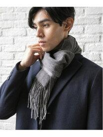GLOBAL WORK (M)ウールカシミヤマフラー グローバルワーク ファッショングッズ マフラー/スヌード グレー ネイビー ブラック ベージュ レッド